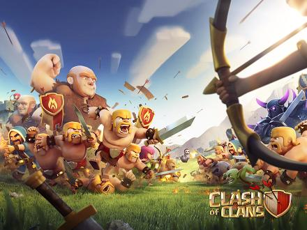 Clash of Clans на Prestigio