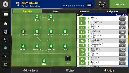 Football Manager Mobile 2016 для Prestigio скриншот 3