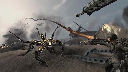 Игра Грань Будущего - 3Д игры - Победи инопланетян