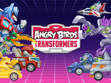 Angry Birds Transformers на Prestigio