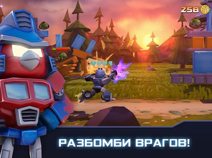 Angry Birds Transformers для Prestigio скриншот 2