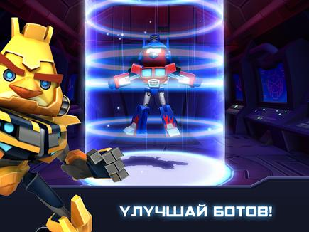 Angry Birds Transformers для Prestigio скриншот 3